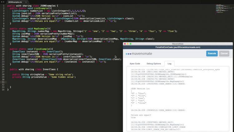 21.  JSON Serialization and Deserialization
