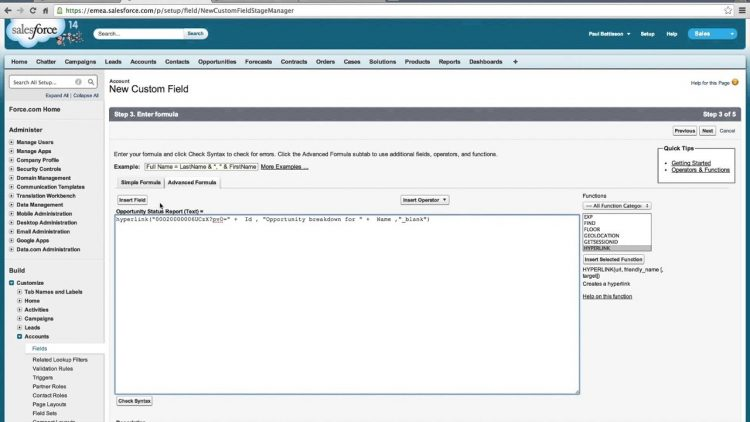 3  Report URL Parameters