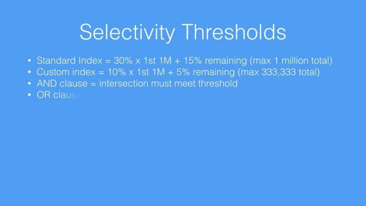 31.  SOQL Performance Series Part 3  – Selectivity