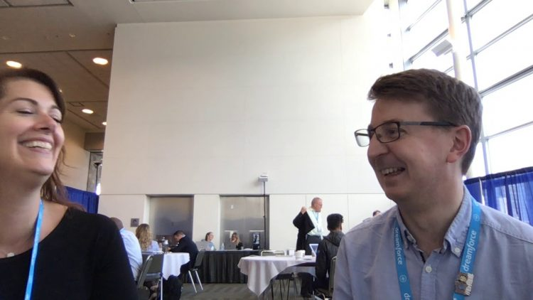Dreamforce 18 – Interview with Jodi Wagner